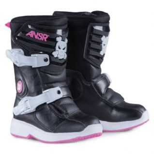 BOOTS KID PEEWEE BLACK/PINK
